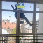 висотне миття вікон
